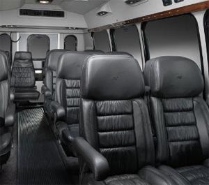 van seats 10
